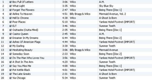 the definitive wilco